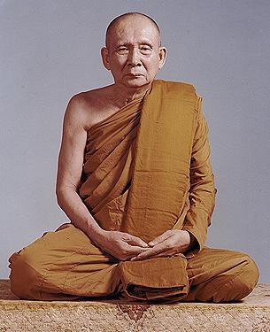 Sangharaja Thailand, Yang Mulia Nyanasamvara Suvaddhana Mahathera, sebelum usia 100 tahun. Foto: undv.org